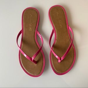 American Eagle | Hot Pink Sandals  | Size 9